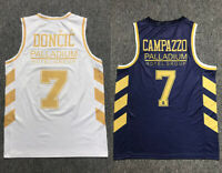 2020 Luka Doncic #7 Campazzo Palladium Hotel Group Team Jerseys Custom Names