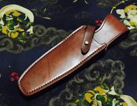 knife blade sheath dagger sword cover scabbard belt bag cow leather Z1027