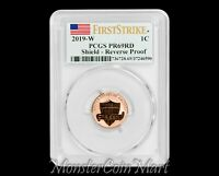 2019-W Reverse Proof Lincoln Cent PCGS PR69RD FIRST STRIKE