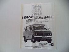 advertising Pubblicità 1979 BEDFORD CF COMBI DIESEL