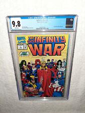 Marvel Comics 1992 The Infinity War #1 CGC 9.8 Thanos Avengers Endgame Starlin