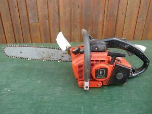 "Vintage KIORITZ ECHO 351VL Chainsaw Chain Saw with 14"" Bar"