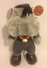 """Harley Davidson Motorcycle Official 11"""" Bulldog Plush Soft Toy 1998 Play By Play"""