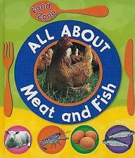 All About Meat and Fish (Qeb Food Zone) by Vic Parker