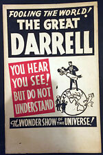 Original Darrell Window Card