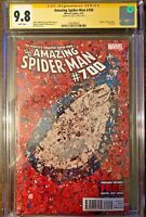 "Amazing Spider-Man #700 A  Collage Cover CGC SS 9.8 Signed STAN ""The Man"" LEE"
