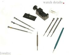 Complete Watch Strap Bracelet Tools Kit for Corum Springbar Tool & Screwdriver