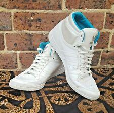Adidas Sleek Series Hi Tops White Size UK 7 ART Q23604 Ladies, Hidden Heel 80s