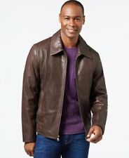 $695 Andrew Marc New York FIRST CLASS Men's Lined Soft Leather Jacket Coat Sz XL