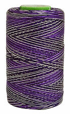 Telephone 2 Ply Thread 680 Meter Hand Machine Embroidery Art Silk Yarn 10 Pcs