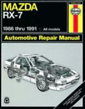Mazda Rx-7 Automotive Repair Manual/1986 Thru 1991, All Models/No. 61036 (Haynes