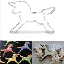 Unicorn Horse Cookies Cutter Mold Cake Biscuit Pastry Baking Mould Fashion Style