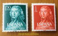 EBS Spain España 1961 Leandro Fernández de Moratín by Goya 1223-1224 MNH**