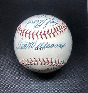 1969 Washington Senators Signed Baseball. Beckett.
