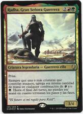 RADHA, GRAN SEÑORA GUERRERA Prerelease FOIL DOMINARIA Español NM Grand Warlord