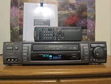 Aiwa hv-mx100u vhs player worldwide PAL, NTSC, SECAM 110v-240v with remote