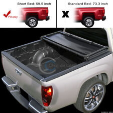 TRI-FOLD SOFT TONNEAU COVER FOR 05-17 FRONTIER CREW CAB / 09-12 EQUATOR 5 FT BED