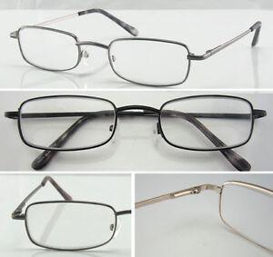 Classic Metal Reading Glasses/Spring Hinges/Multi Designed/Strength +0.50-+4.00*