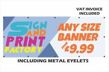 Printed PVC Vinyl Banner Personalised Outdoor Waterproof Advertising Sign