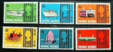 HONG KONG 1968 SEA CRAFT SG 247 - 252 MNH OG FRESH