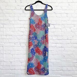 Splendid x Margherita Missoni Size XS Brillare Dress Multi Daisy Midi Floral NEW