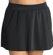 544048c739 Trimshaper Plus Black Tummy Control Swim Skirt 18w