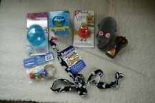Job Lot Cat Toys And Feeding Dishes
