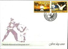 Kosovo Stamps 2012. Olympic Games - London. Majlinda Kelmendi. FDC Set MNH