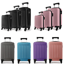 Ryanair Case Bag Hard Cabin 4 Wheels Spinner Trolley Luggage Strong Suitcase