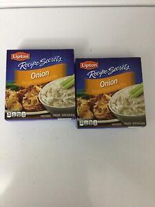 Lipton Onion Recipe Secrets Recipe Soup & Dip Mix 2 Boxes Brand New