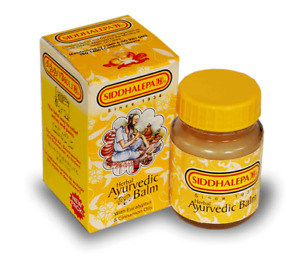 100g SIDDHALEPA Ayurveda Ayurvedic Herbal Balm Pain Cold Flu Headaches Relief