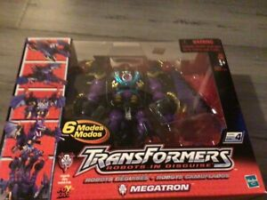 Transformers Megatron RID robots in disguise 2001