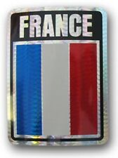 France Country Flag Reflective Decal Bumper Sticker