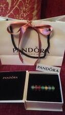 Genuine Disney Pandora Murano Perline, 7 in totale Principessa etc, Borsa e Scatola Regalo