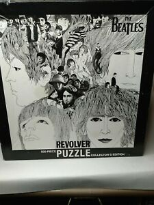 THE BEATLES REVOLVER Album 2009 Collectors Edition 500pc. Puzzle VintageOldStock