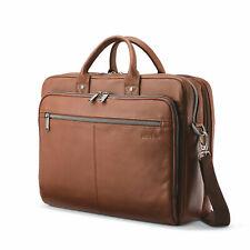 Samsonite Classic Leather Toploader Briefcase Brown 126039-1221