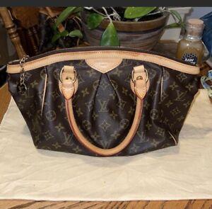 Authentic Louis Vuitton Tivoli Handbag Bag Monogram PM