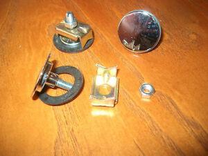 Hirschmann Antenna Delete Cap Cover Plug Chrome fits PORSCHE 911 and Others