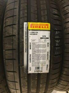 NEW PIRELLI P ZERO PZ4 CAR/SUV TYRES 255/55 ZR19 107W 255 55 19 2555519 B+A