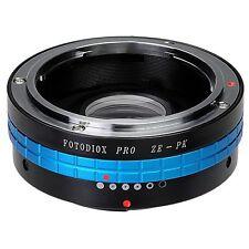 Fotodiox Objektivadapter Pro Mamiya 35mm (ZE) Linse für Pentax K (PK) Kamera