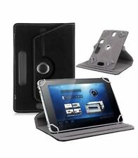 "360°Folio Leather Case Cover For Universal Android Tablet PC 7""8""9""10""10.1""Black"