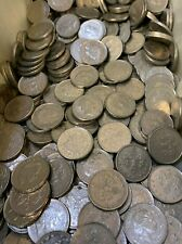 Five Pence - 1000 Great Britain 5 Pence Coins - Item #1900