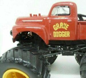 Monster Jam Truck GRAVE DIGGER Hot Wheels