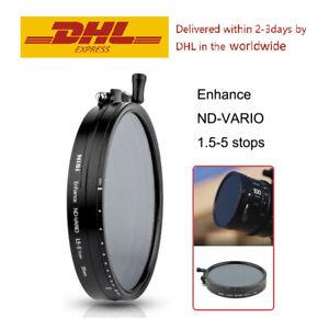 NISI 95mm 110mm 114mm ( CINE ) Adjustable ND filter Enhance ND-VARIO 1.5-5 stops