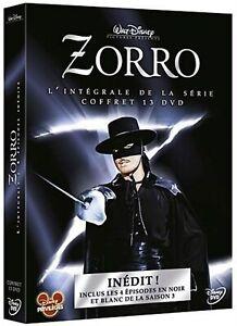 ZORRO - Complete TV Series 1-3 Guy Williams Disney NEW REGION 2 Box Set 13+DVD