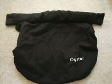 Genuine BabyStyle Oyster Car Seat Apron - Black ink