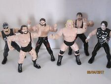 Lot Of 6 1997 Wcw Wrestlers 8 inches  j1