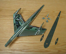 1955 CHEVY CHROME HOOD BIRD ORNAMENT with GASKET NEW Made in USA