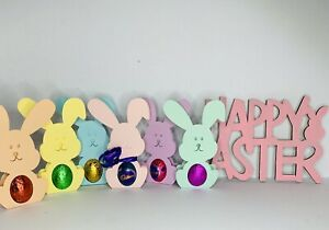 5 Pack Of Easter Bunny Egg Holder Class Gift