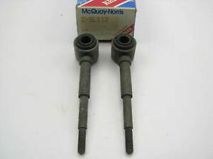 (2) MCQUAY-NORRIS AMC Hornet Javelin Rambler Gremlin REAR Sway Bar Links